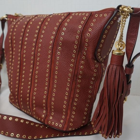 a213436b9f3b Michael Kors Bags | Brooklyn Grommet Feed Brick Bag | Poshmark